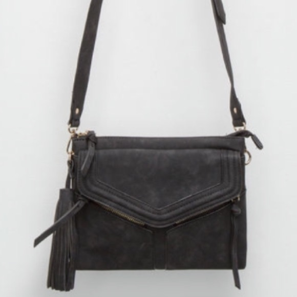 9d69a212142d Free People Leanna Tassel Crossbody Bag